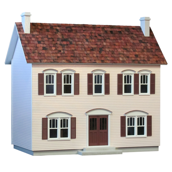 Unfinished Wooden Dollhouse Kits In 1 Inch 1 2 Inch Scales Plus
