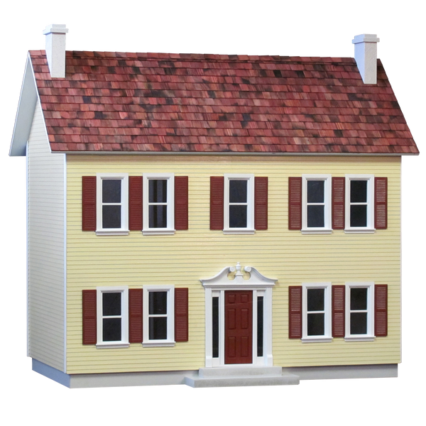 The Stockbridge House Dollhouse Kit