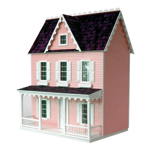 Vermont Farmhouse Jr Dollhouse Kit Milled MDF Real Good Toys