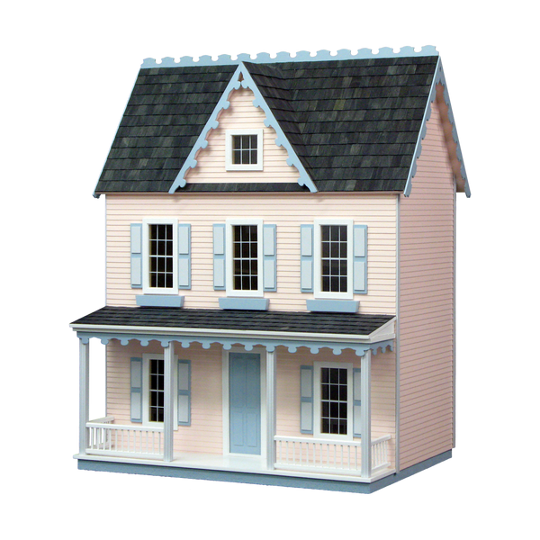 Vermont Farmhouse Jr. Dollhouse Kit Milled MDF
