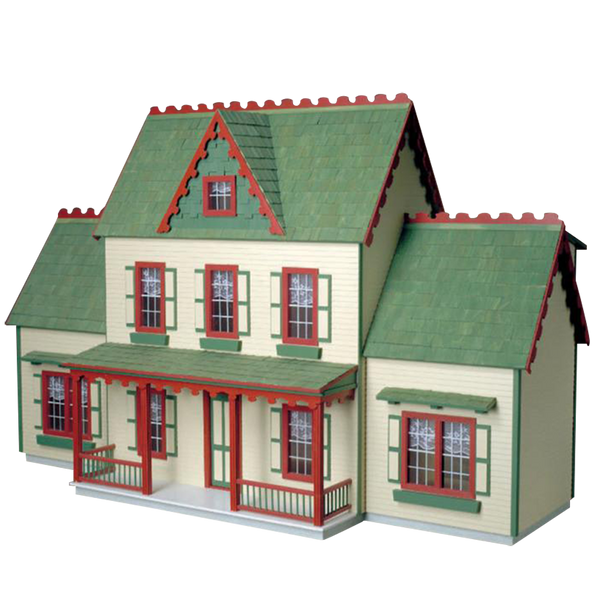 Colonial Junior Dollhouse Addition Milled Mdf Real Good Toys