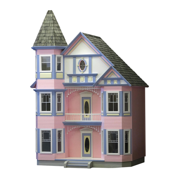 The Painted Lady Dollhouse Kit Real Good Toys