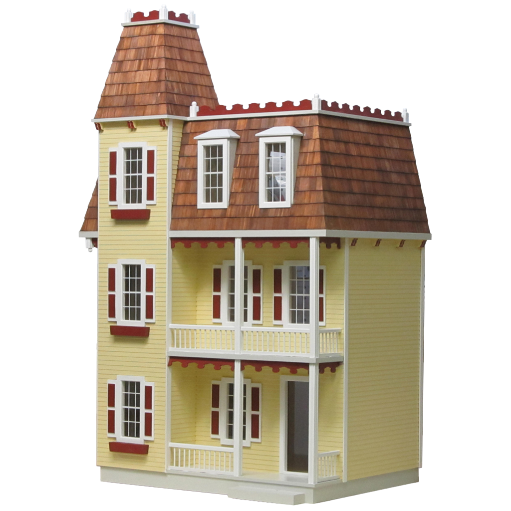 Alison Jr. Dollhouse Kit Milled MDF