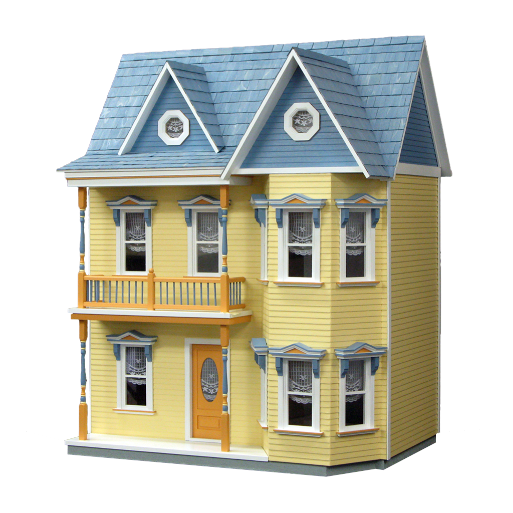 Princess Anne Dollhouse Kit Milled MDF