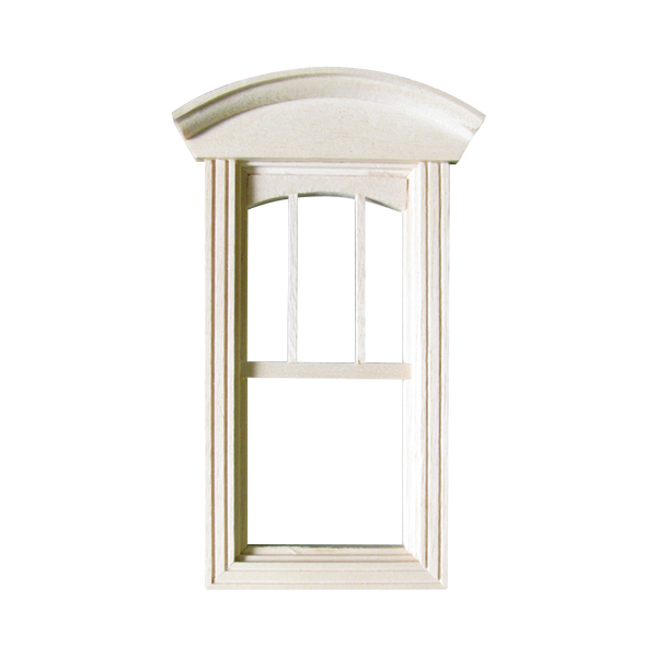 Queen Anne Dollhouse Single Non-Working Window