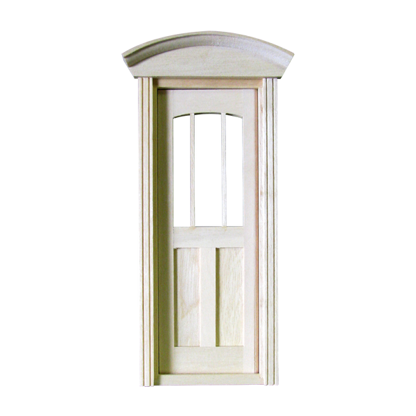 Queen Anne Dollhouse Single Door