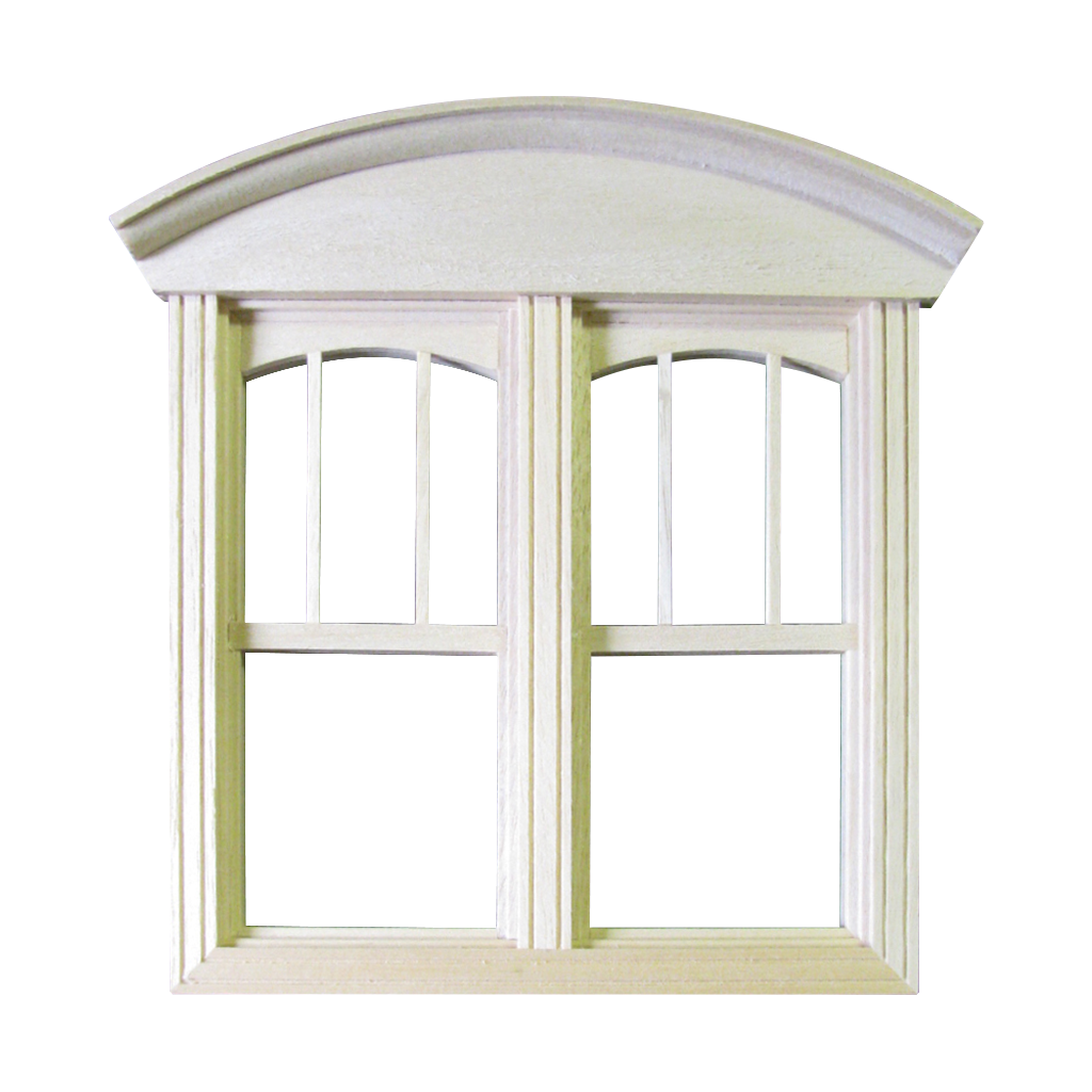 Queen Anne Dollhouse Double Non-Working Window