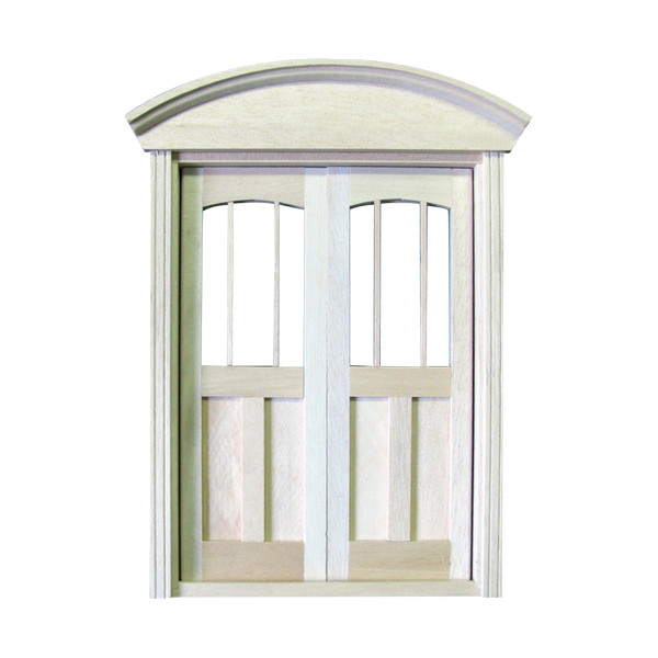 Queen Anne Dollhouse Double Door