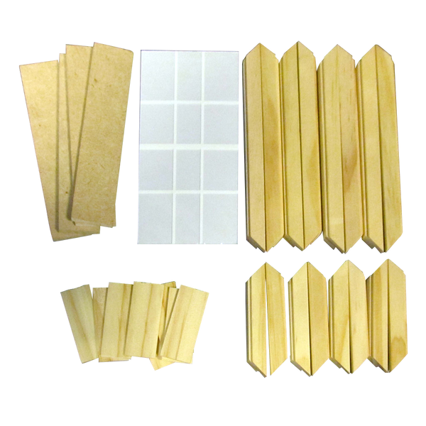 Junior Dollhouse Standard Single Window Kit