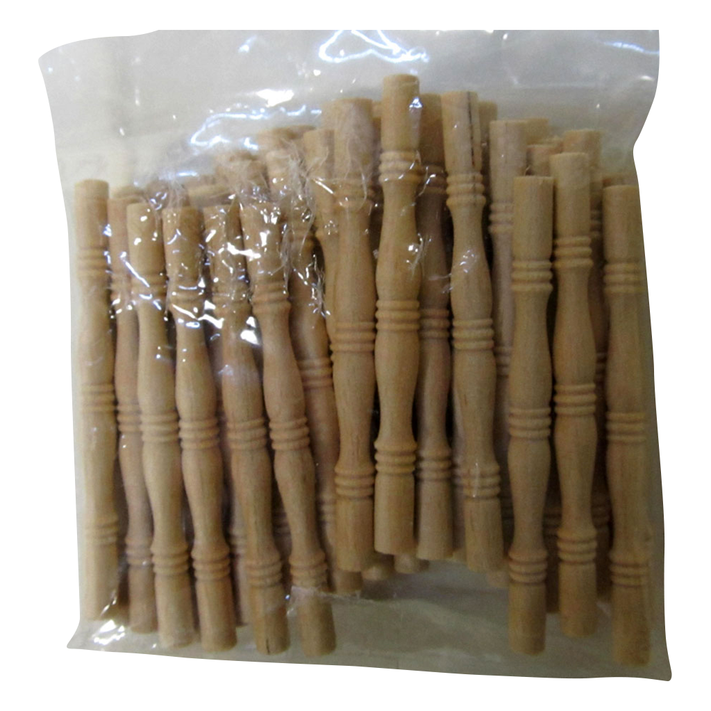 Turned Dollhouse Porch Spindle 2 Inches Tall (50 pieces)