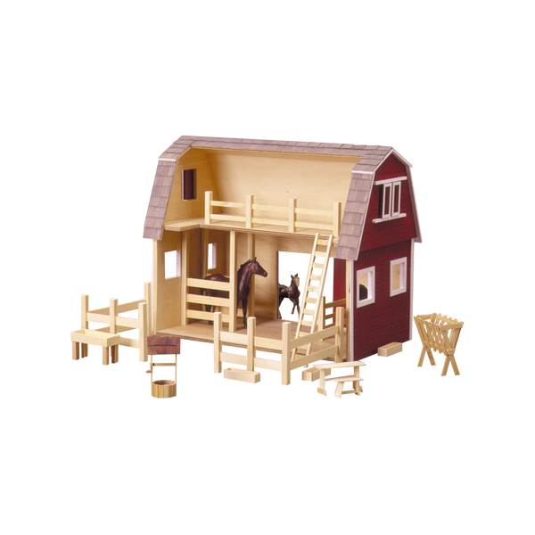 Ruff N Rustic All American Barn Dollhouse Kit Real Good