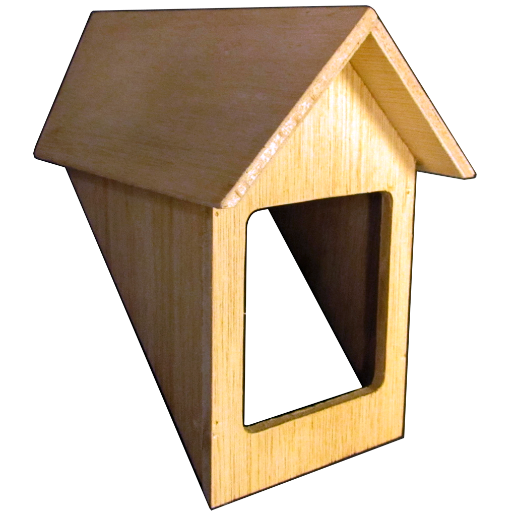 45 Degree Dormer Shell Kit Smooth Plywood