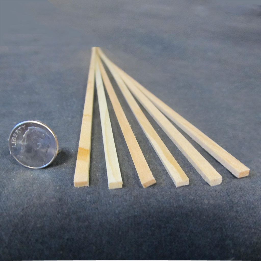 3/16 x 3/32 Inch Stripwood Pack (20 pieces)