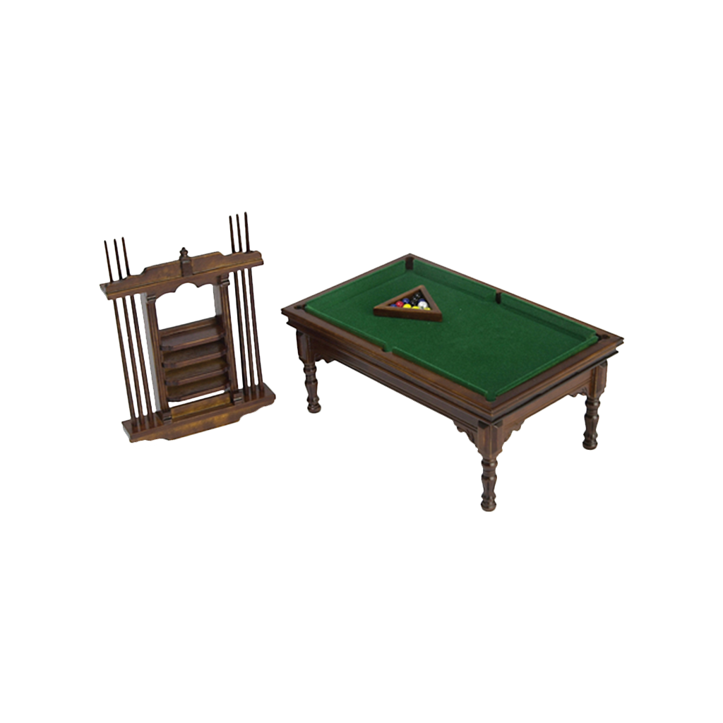1 Inch Scale Miniature Pool Table
