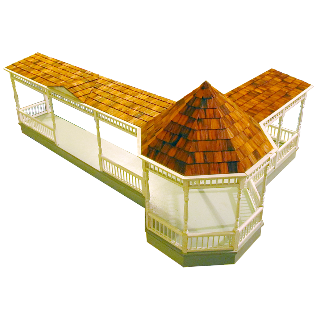 Dollhouse Gazebo Wraparound Porch Kit