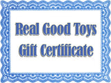 Real Good Toys Gift Certificate
