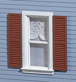 Louvered Shutters (pair)
