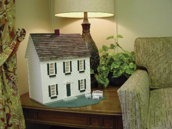 1 2 Inch Scale Colonial Dollhouse Kit Real Good Toys