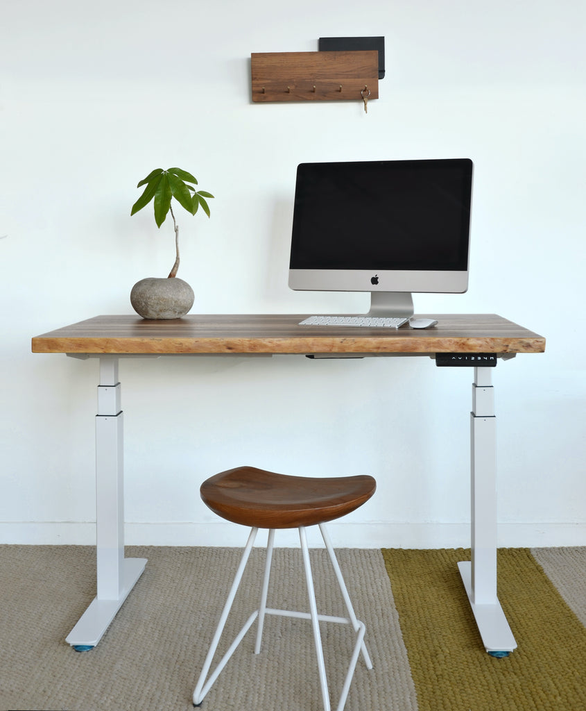 Introducing the Solid Wood Sit-to-Stand FLYTE Desk