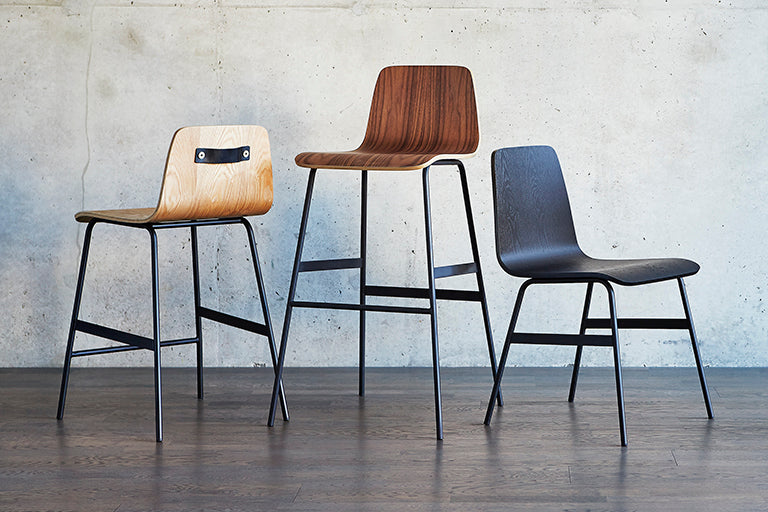 Gus* Modern Dining Chairs + Stools