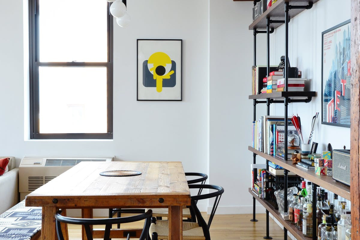 Apartment Therapy A Minimal Modern Brooklyn Apartment In A Former Pe From The Source