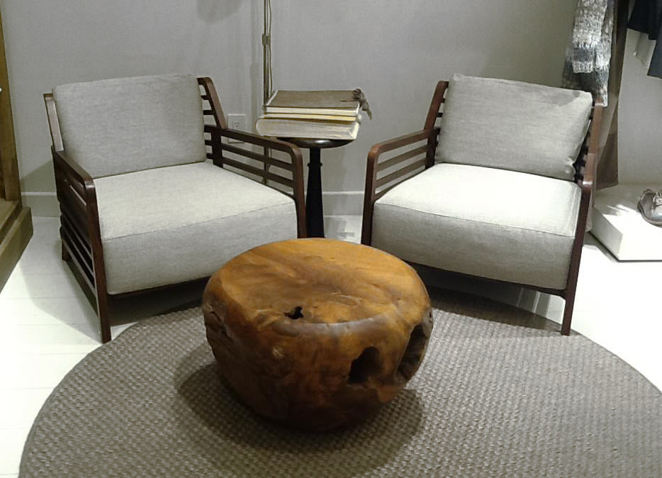 Teak Root Ball Side Table