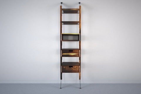 Apollo Wall System Narrow Storage Display