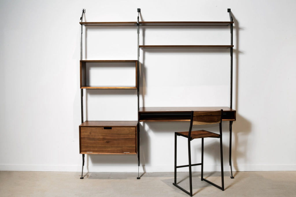 Apollo Desk System + Dropdown Storage