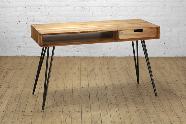 Ciao + Corvus Desk with Drawer • Teak
