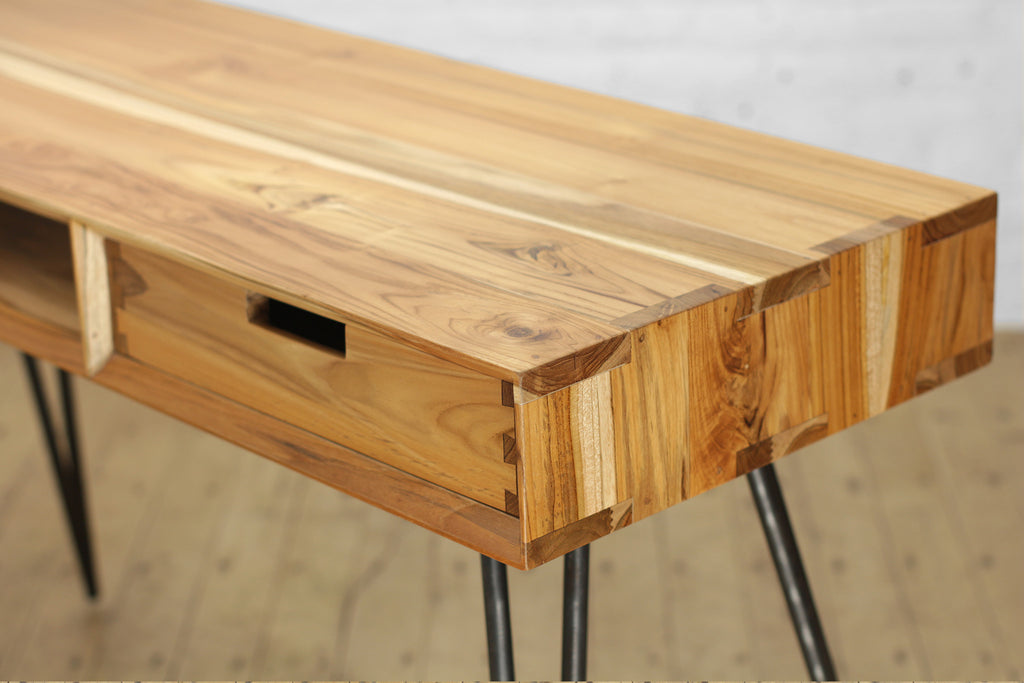 Ciao + Corvus Desk with Drawer