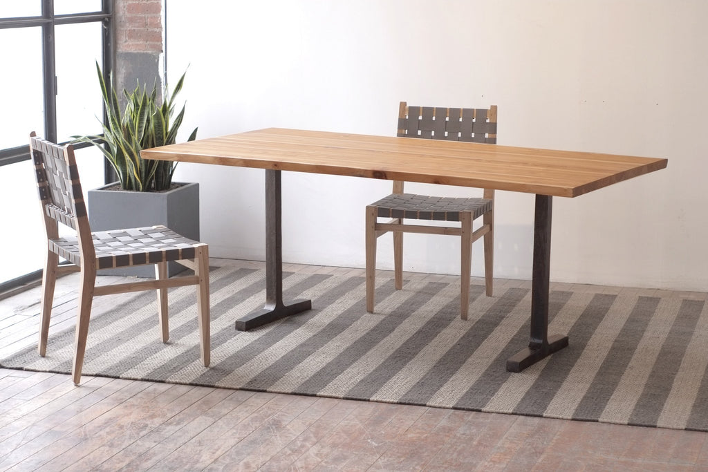 The Slim + Kali Live Edge Dining Table