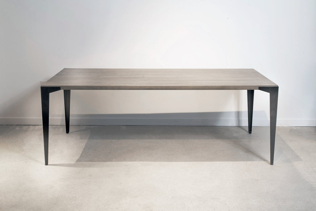 Mango Lurus + Dart Dining Table