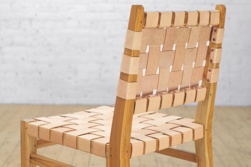 Grasshopper Dining Chair Leather