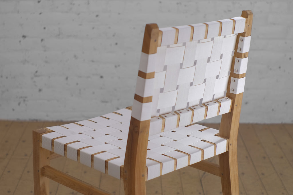 Grasshopper Dining Chair White Outdoor