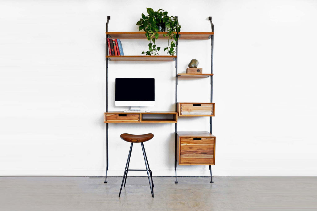 Apollo Standing Desk with Organizing System