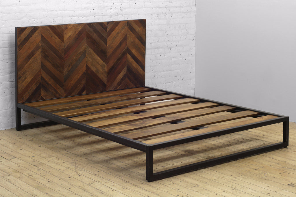 Ikan Bed • Reclaimed Teak Headboard