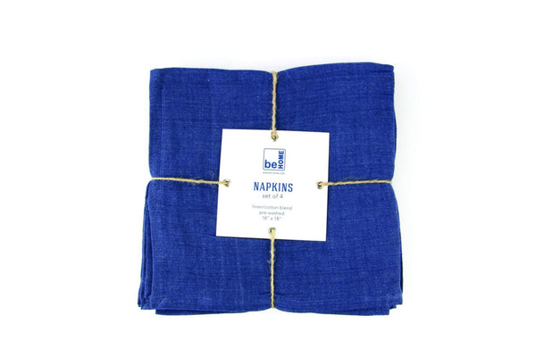 Indigo Napkins Set