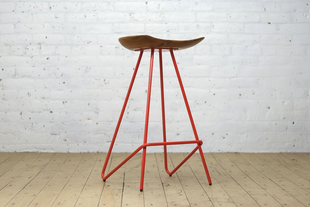 Perch Stool • Tomato