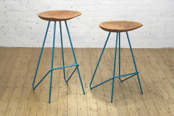 Perch Stool • Teal