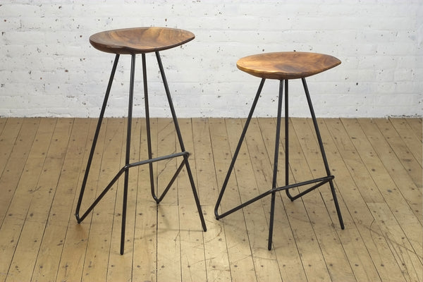 Perch Stool • Iron