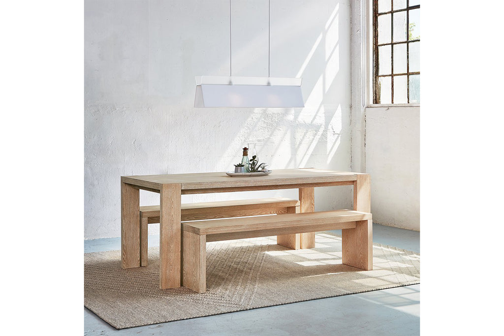 Plank Table & Bench