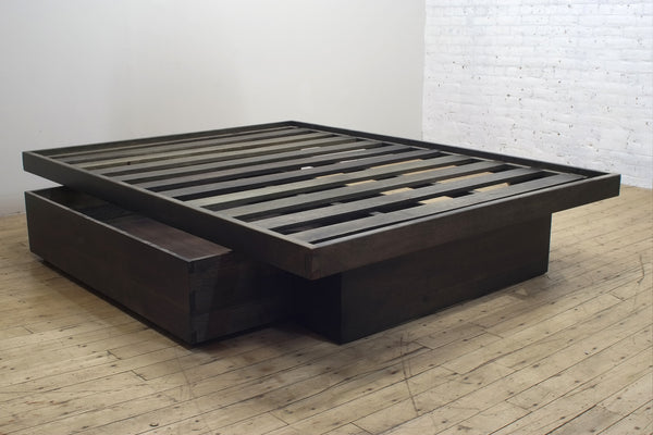 Elate Storage Bed • Smoked Mango