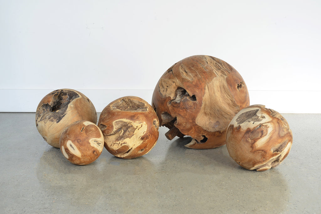 Teak Root Ball Sculpture
