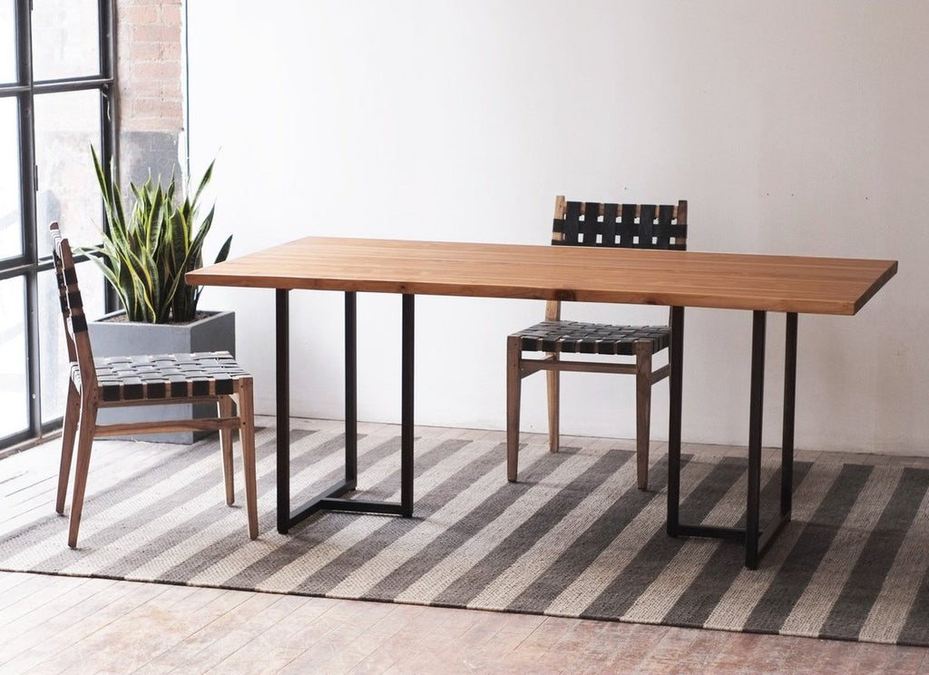 Tee + Kali Live Edge Dining Table
