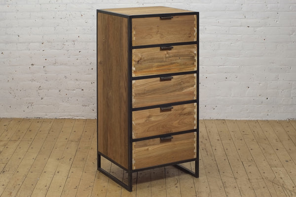 Tinker Dresser • 5 Drawer Narrow