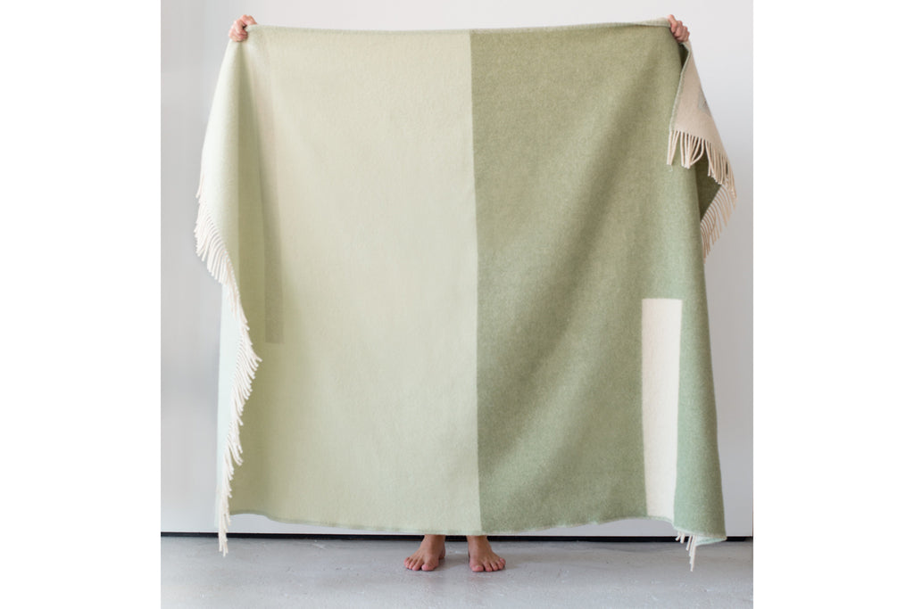Abstract Blanket - Lush Green