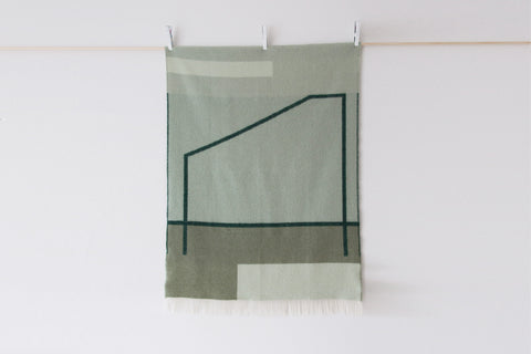 Pop-Up Blanket - Green