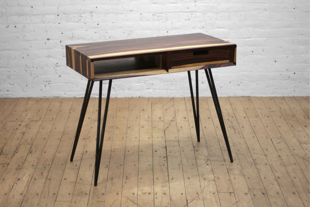 Ciao Desk with Drawer • Sonokeling