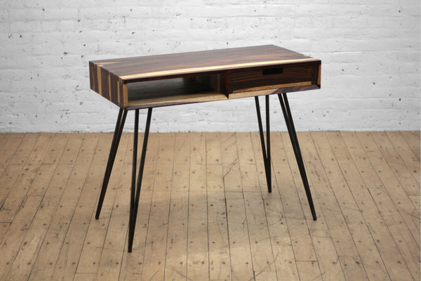 Ciao + Corvus Desk with Drawer • Sonokeling