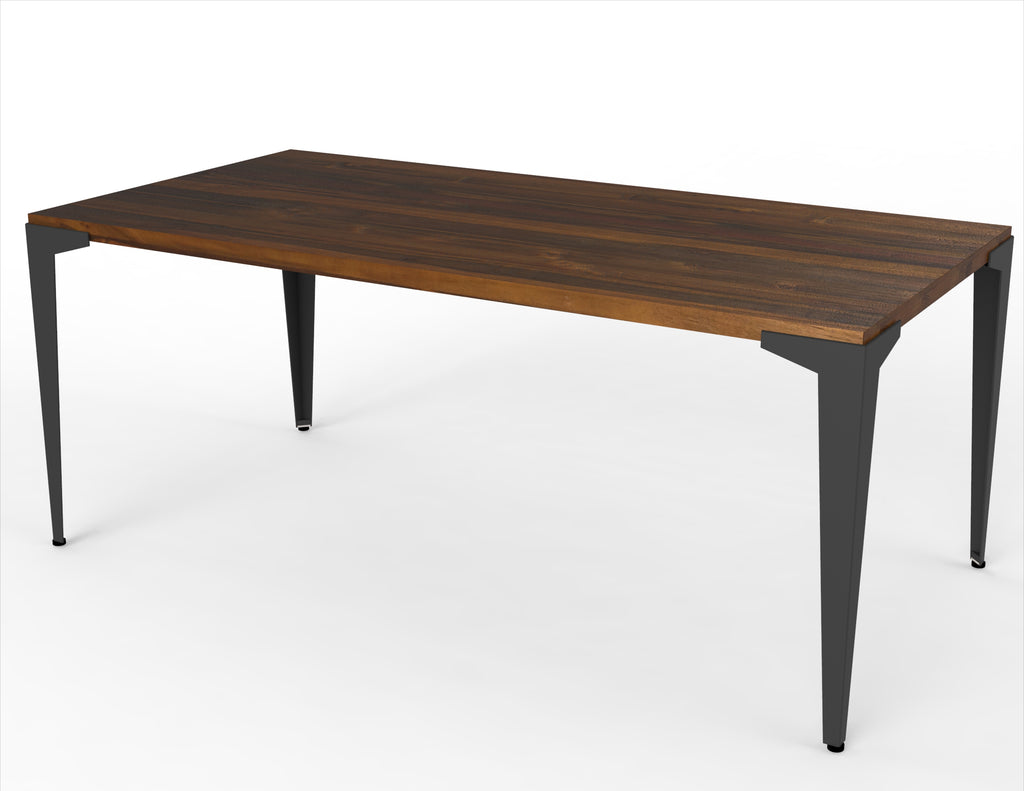 Dart + Lurus Straight Edge Dining Table
